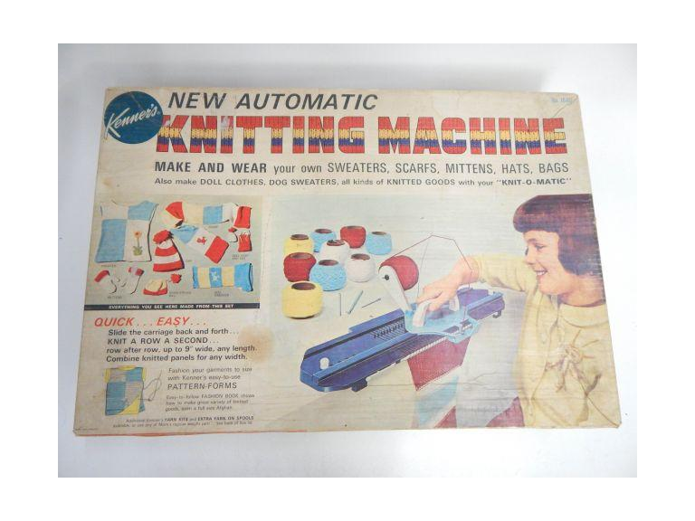 Vintage Kenner Toy Knitting Machine