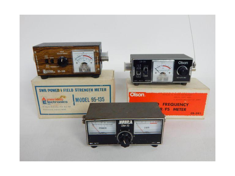 SWR/Power Field Meters