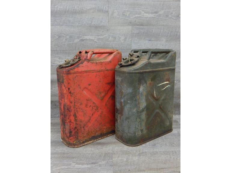 Military Steel 5 Gallon Fuel Cans