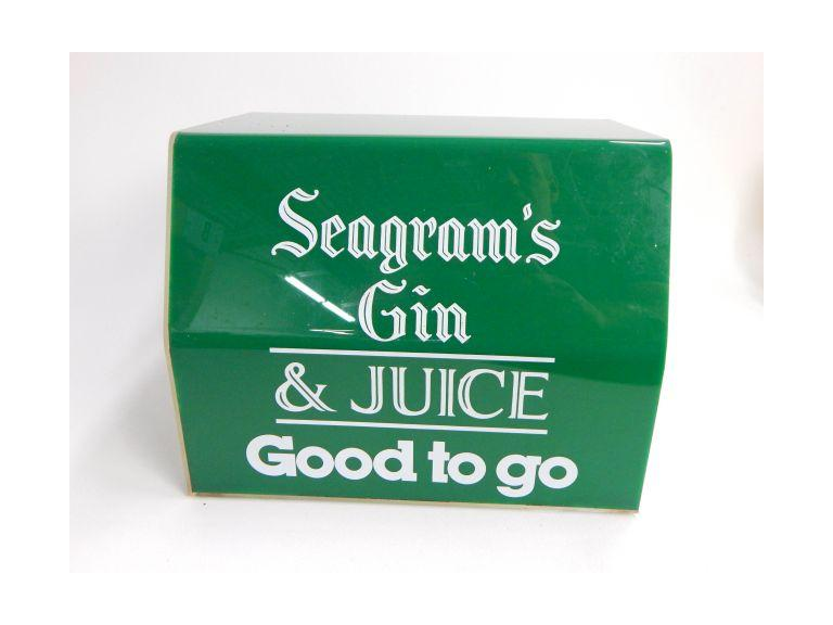 Seagram's Countertop Display