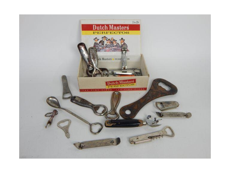 Collection of Vintage Bottle Openers