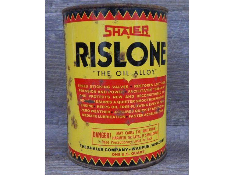 Old Rislone Oil Alloy Tin Can
