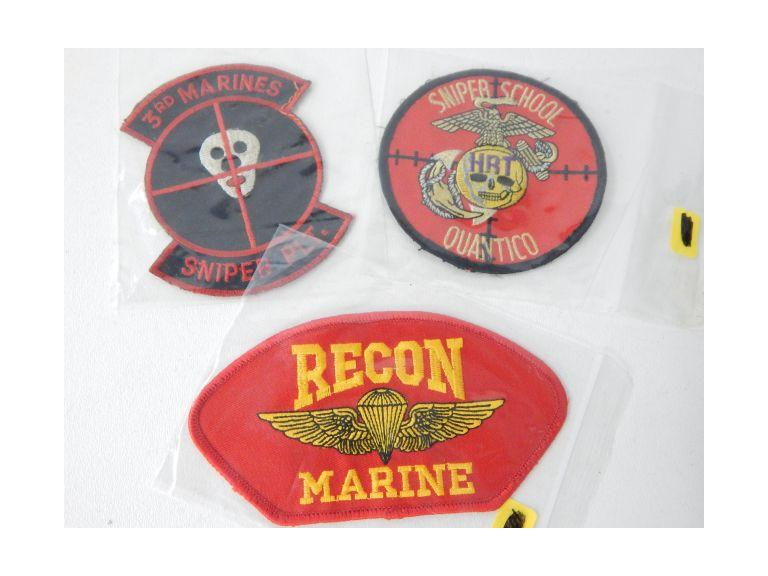 Marine Sniper and Recon Patches