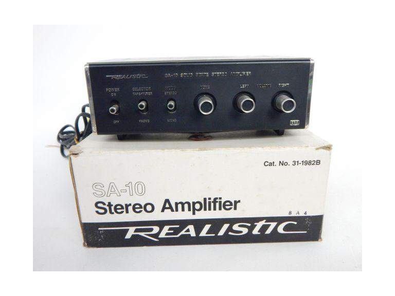 Realistic Solid State Amplifier