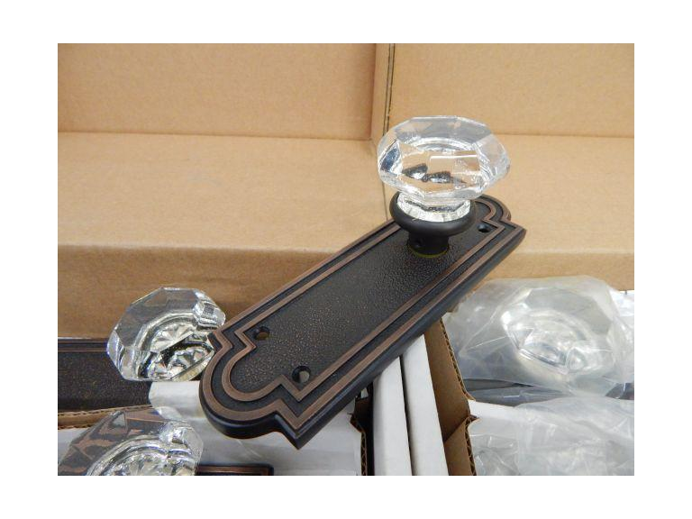 Emtek Glass Door Handle Kits