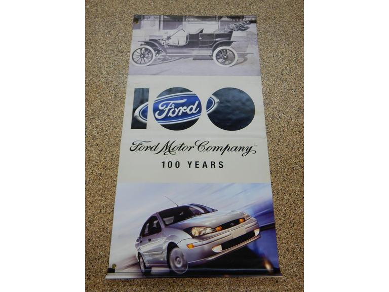 Long Ford Anniversary Car Vinyl Banner