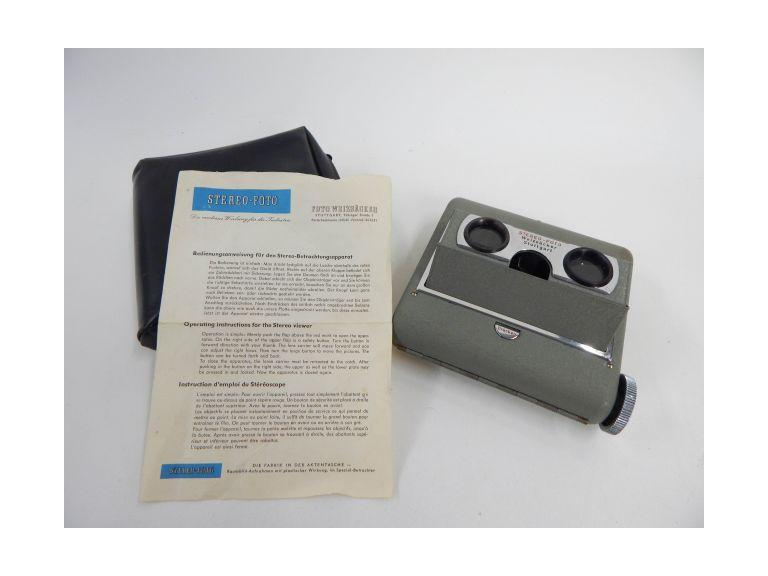 German Weizsacker Stereo-Foto Viewer