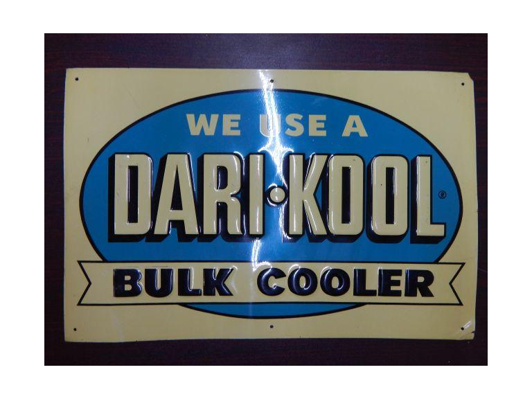 Old Dari-Kool Advertising Metal Sign