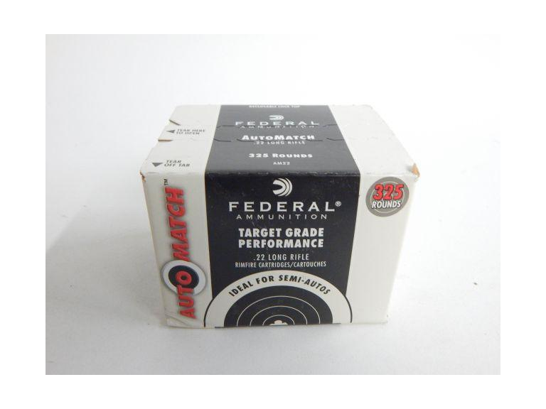 Box of Federal 22 Long Rifle Cartridges