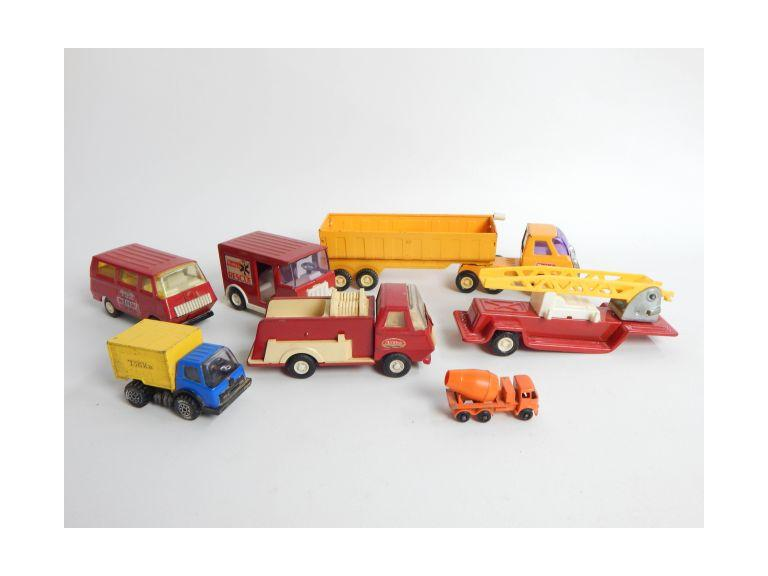 "Collection of Old Tonka & Buddy ""L"" Toys"