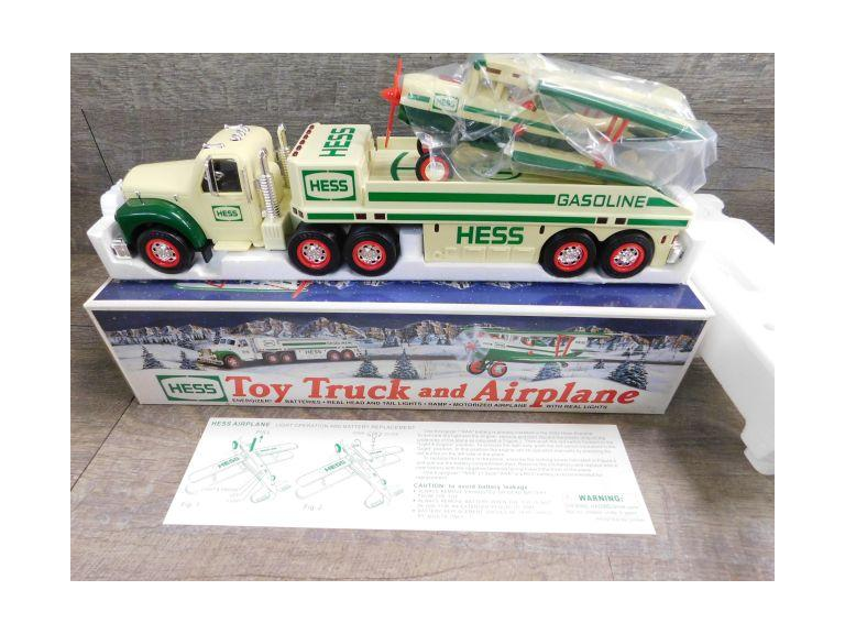 Hess Toy Truck and Airplane