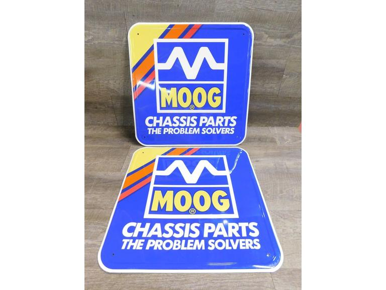 MOOG Auto Parts Advertising Signs
