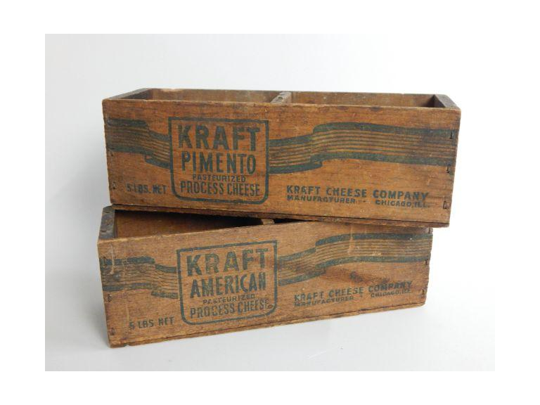 Wooden Kraft Cheese Boxes