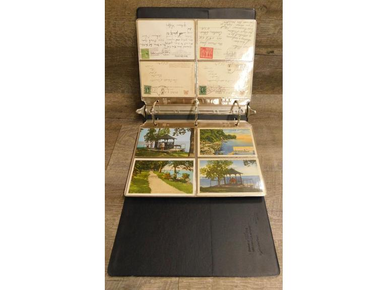 Binder of Post Cards