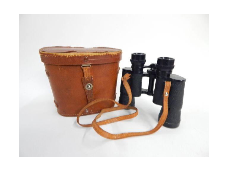 Kadima Prismatic Binoculars and Leather Case