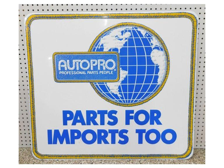 Large Auto Pro Parts Sign #2