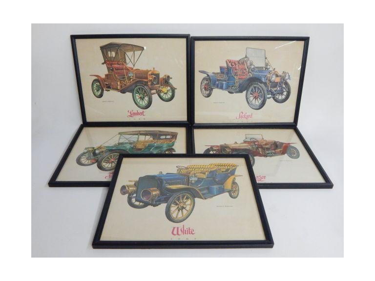 Jerome Biederman Framed Classic Car Prints