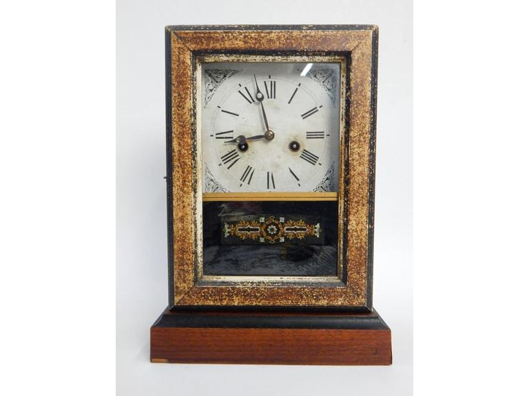 Ingraham Key Wind Mantle Clock