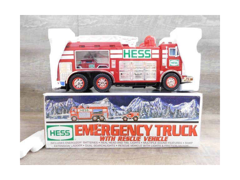 Hess Emergency Truck with Rescue Vehicle