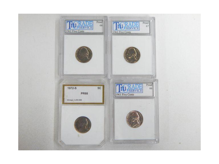 Proof Graded Nickel Collection
