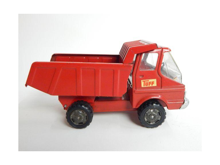 Vintage Japan Tuff Steel Toy Dump Truck