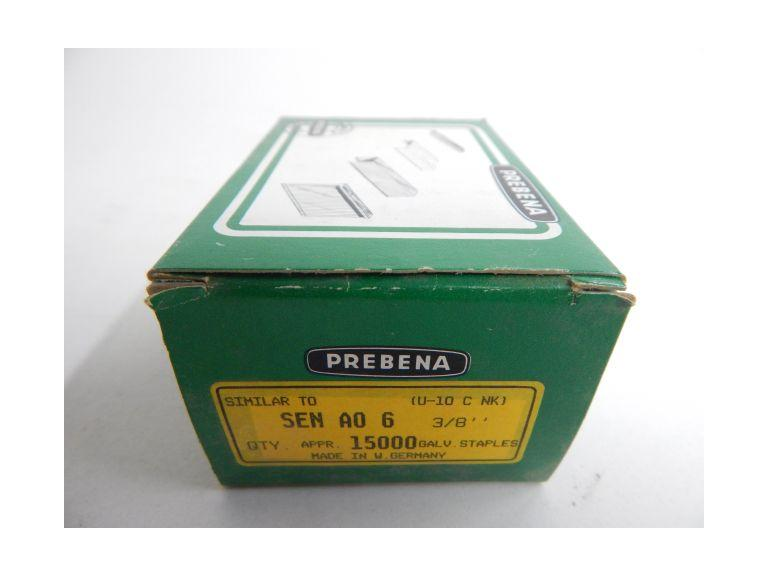 Box of Prebena SEN AO 3/8'' Staples