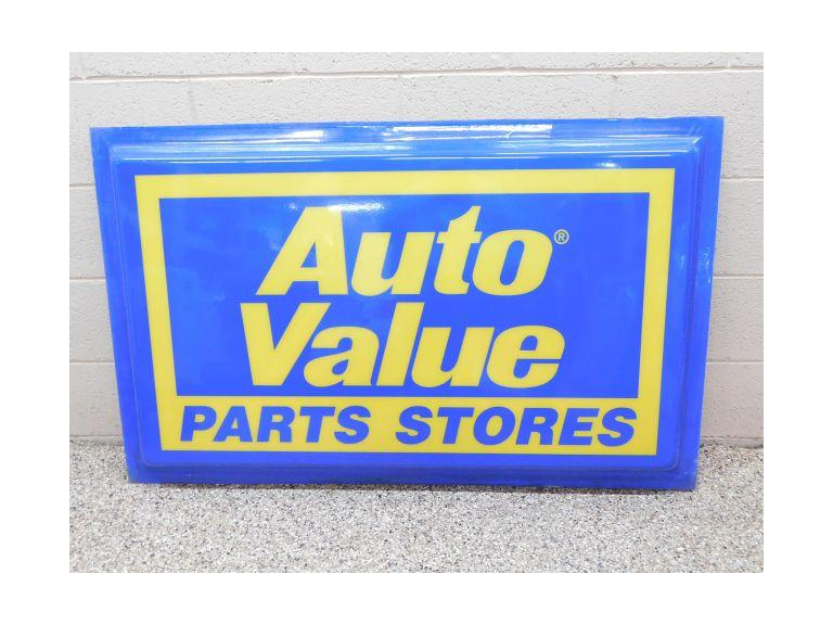 Large Auto Parts Store Sign #2