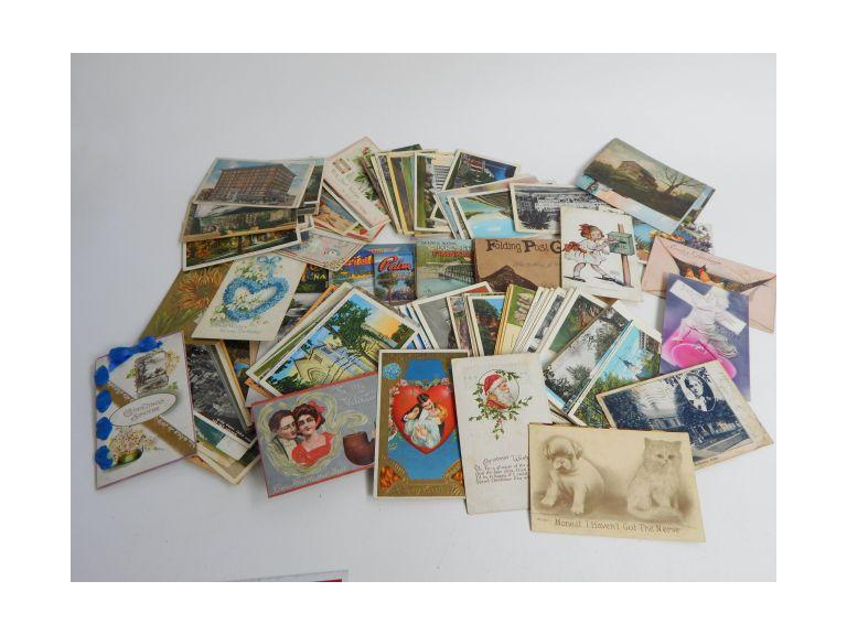 Large Collection of Old & Antique Postcards