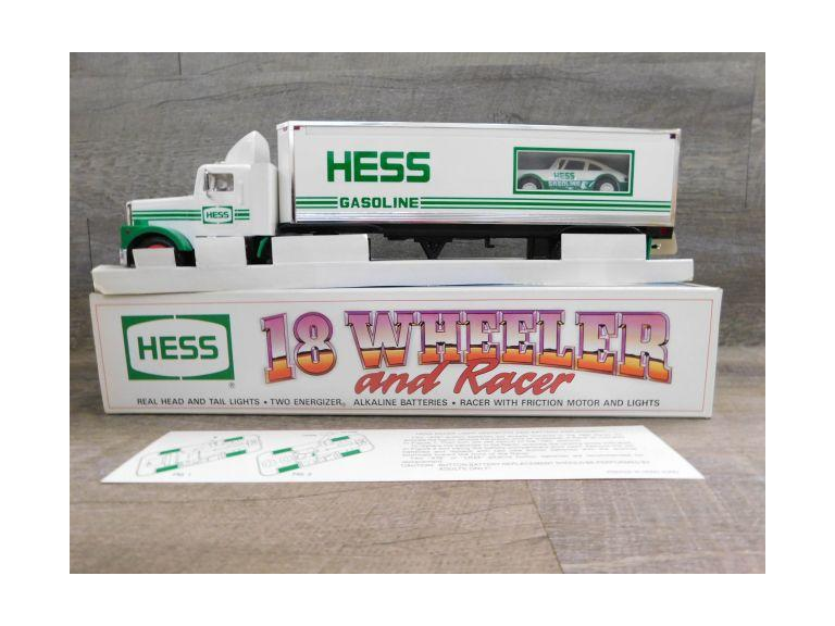 Hess 18 Wheeler and Racer