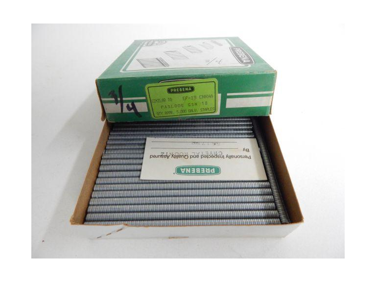 Box of Prebena GSN 18 3/4'' Staples
