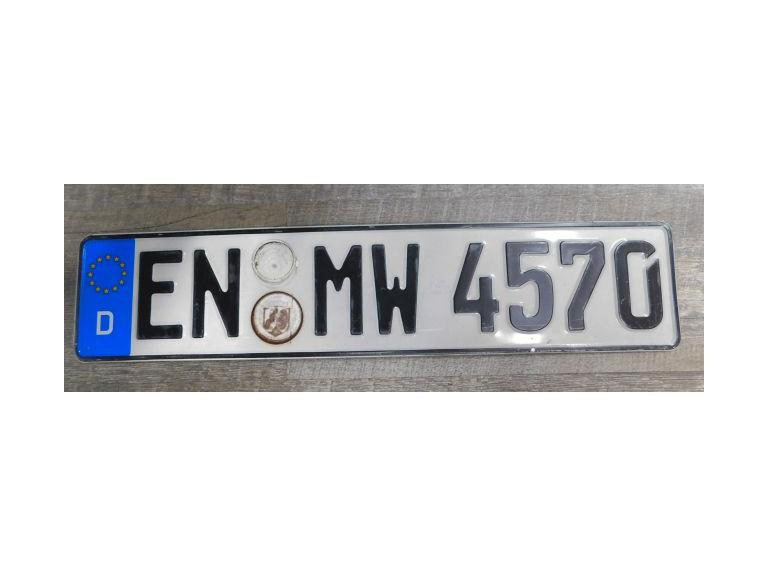 Germany License Plate #3