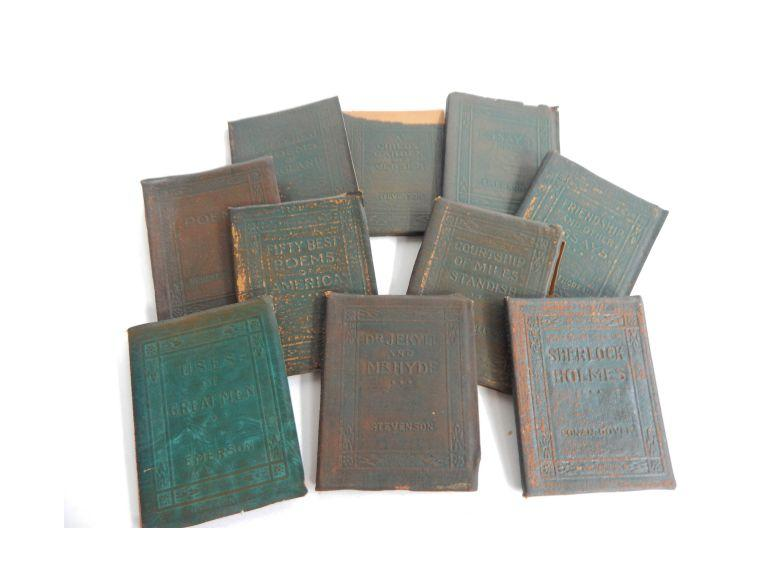Collection of Little Leather Library Books