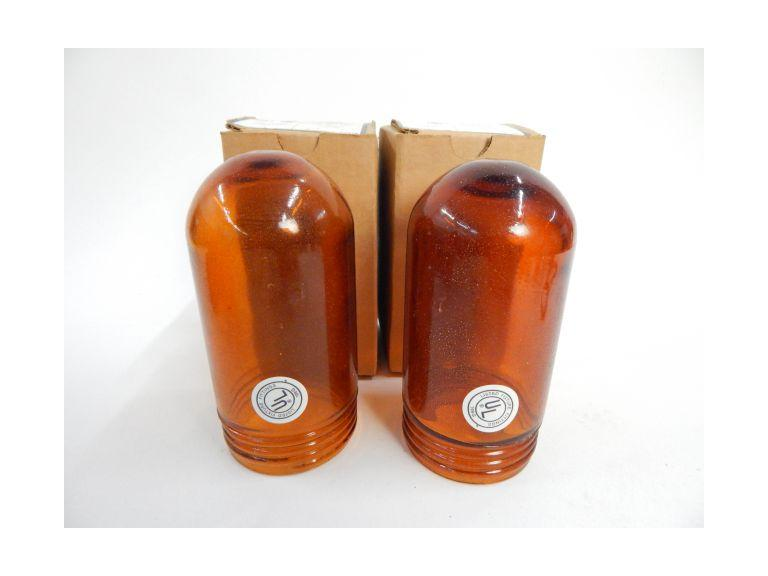 Explosion Proof Amber Glass Globes