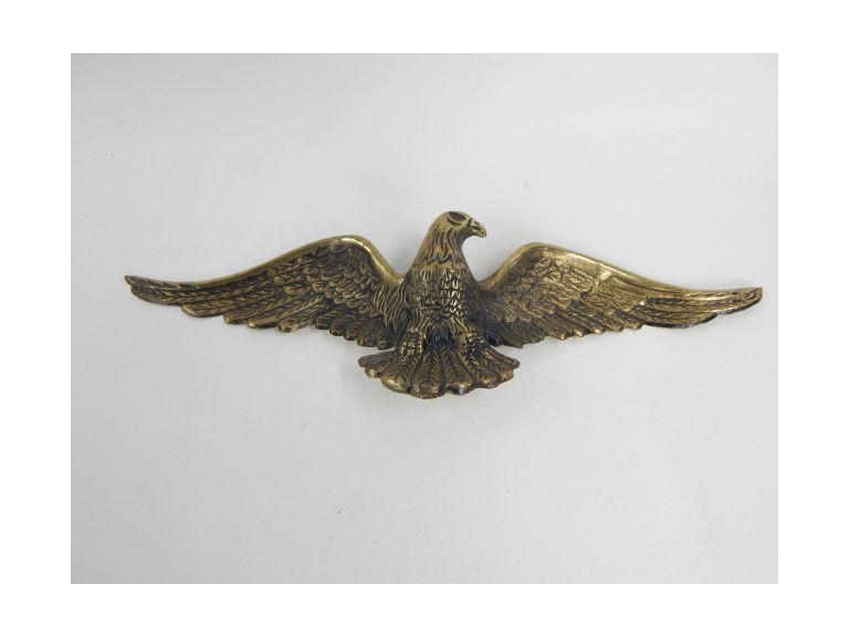 Cast Brass Eagle Plaque