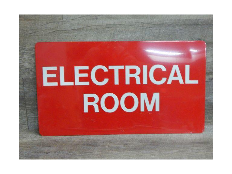 Electrical Room Metal Sign