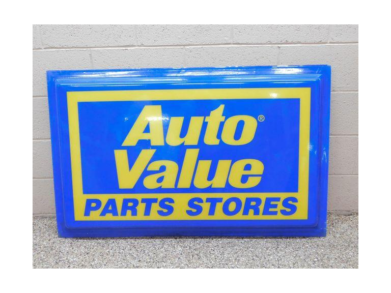 Large Auto Parts Store Sign