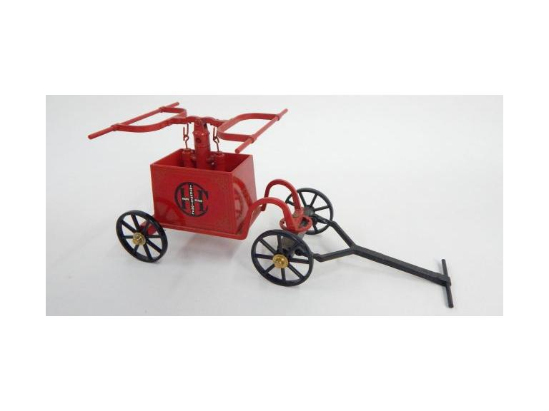 Die-Cast Metal Fire Pumper Toy