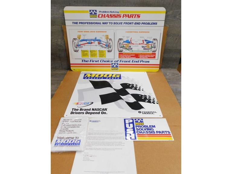 MOOG Auto Parts Advertising Packs  #2