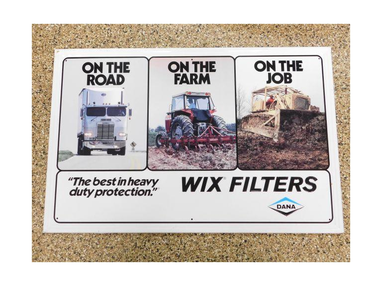 Wix Filters Advertising Sign