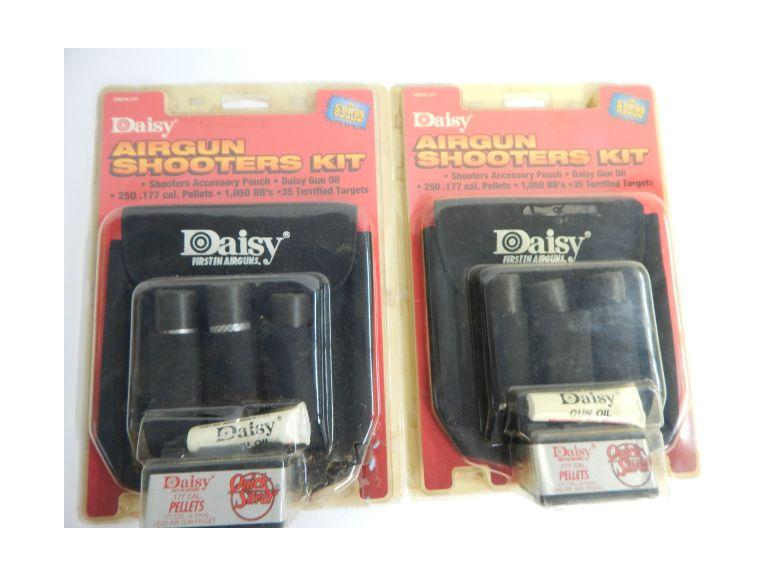 Pair of Daisy Air Gun Shooter Kits