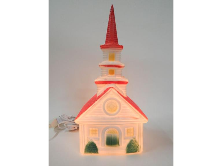 Small Blow Mold Plastic Church