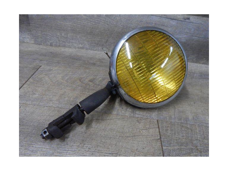 Vintage Yellow Lens Fog Light