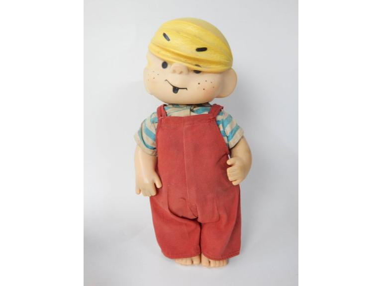 1950's Dennis The Menace Rubber Doll