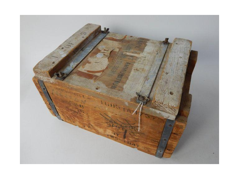 Small Arms Wooden Ammunition Crate