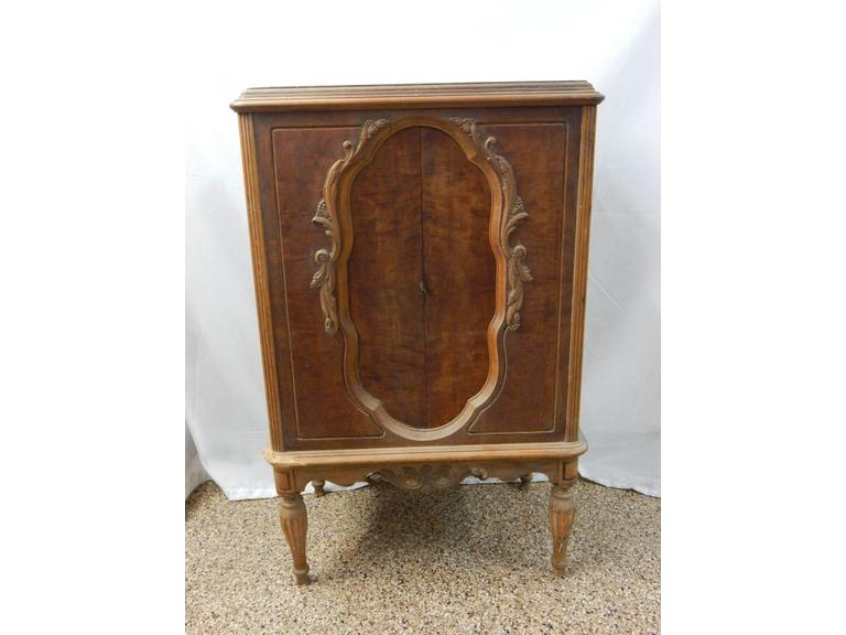 Antique Wooden Storage Cabinet