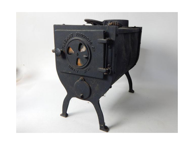 Small Vintage Wood Burning Stove