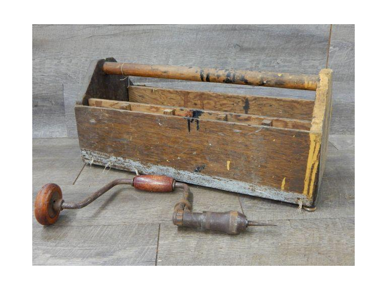 Primitive Tool Carrier and Drill