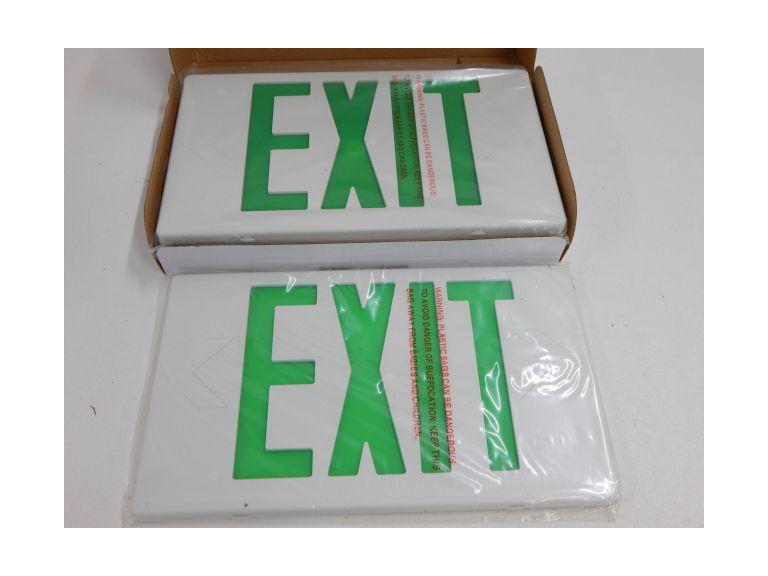 New LED Exit Sign