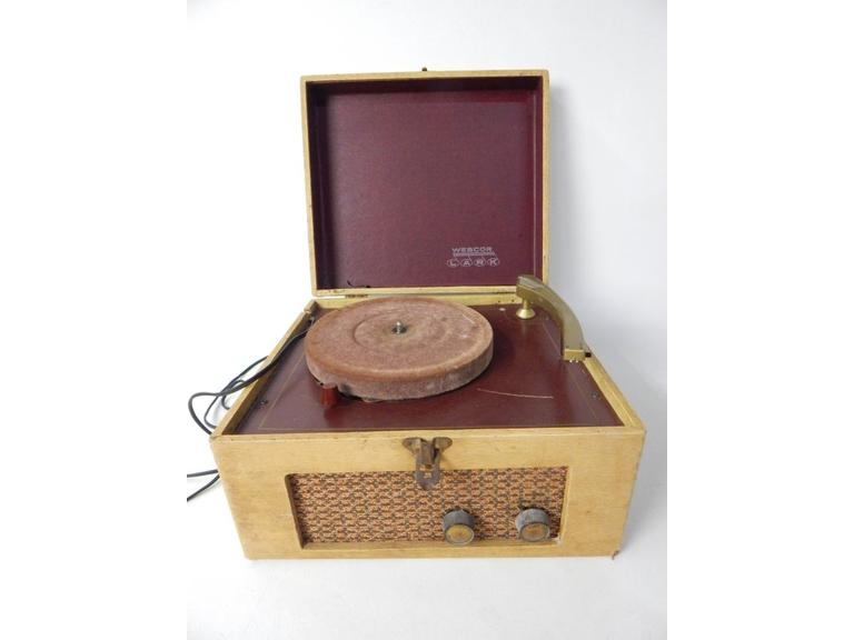 Webcor Portable Record Player