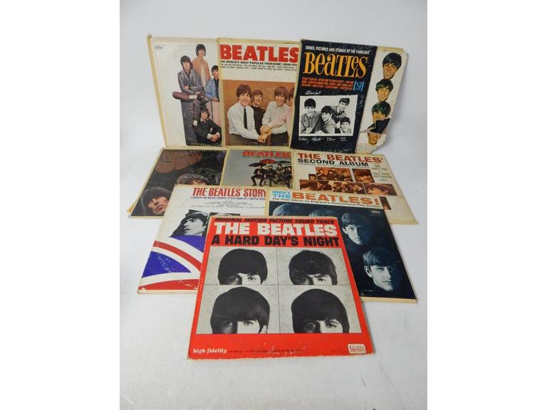Collection of Old Beales Record Albums